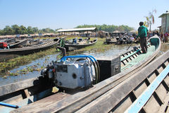 Inle Lake view in Myanmar Royalty Free Stock Photos