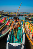 Inle local market Royalty Free Stock Photography