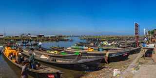 Inle market Royalty Free Stock Photo