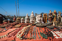 Inle market Royalty Free Stock Photography