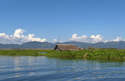 Inle See in Birma (Myanmar). Stockfotografie