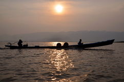 Inle sjö Royaltyfria Foton