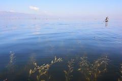 Inle sjö Royaltyfri Bild