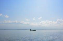 Inle sjö Royaltyfri Fotografi