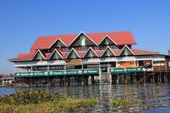 Inle sjö i Myanmar Royaltyfria Bilder