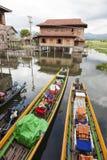 Inle sjö Myanmar Royaltyfri Bild