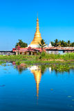 inlelake myanmar Arkivfoto