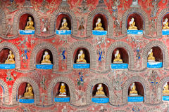inlelake myanmar royaltyfri foto