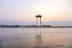 Inlemeer, Shan, Myanmare Stock Afbeeldingen