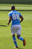 Inler in Arsenal-Napoli Stock Photography