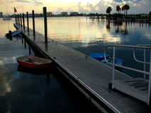 Inlet from Gulf Of Mexico. Inlet body of water from the Gulf of Mexico in St. Petersburg, FL Stock Image