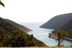 Inlet - Istria coast - Croatia Stock Photos