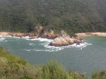 Inlet in knysna Royalty Free Stock Image