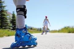 Inline łyżwiarstwo Obraz Royalty Free