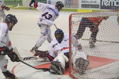 Inline hockey - Roman Handl Stock Images