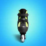 Inline rollers skates 3d render on gradient Stock Photography