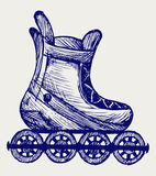 Inline skate Stock Photos