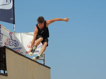 Inline Skate XMA contest - Senigallia 2015 Royalty Free Stock Photos