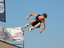 Inline Skate XMA contest - Senigallia 2015 Royalty Free Stock Images