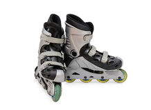 Inline skate isolated Royalty Free Stock Image