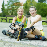 Inline skaters Stock Photo