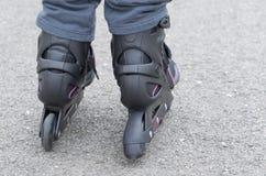 Inline skates Stock Images