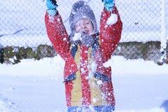 Inlove del invierno Fotografía de archivo