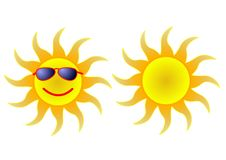 inm затеняет солнце Стоковое фото RF