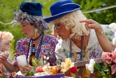 Inman Park-Frühlings-Festival-Parade Atlanta GA Lizenzfreie Stockfotos