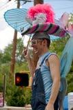Inman Park-Frühlings-Festival-Parade Atlanta Georgia Stockfotografie