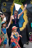 Inman Park Spring Festival Parade in Atlanta GA Royalty Free Stock Photos