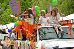 Inman Park Spring Festival Parade Atlanta GA Stock Images