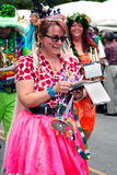 Inman Park Spring Festival Parade Atlanta Georgia Stock Photo
