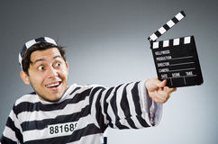 Inmate with the movie Stock Images
