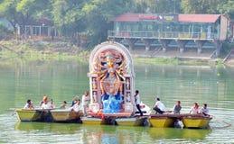 Inmersión de los ídolos de la diosa Imagenes de archivo