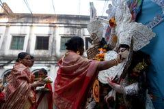 Inmersión del durga de Devi imagen de archivo libre de regalías