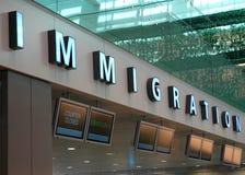 Inmigración Fotos de archivo libres de regalías