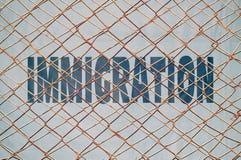 inmigración stock de ilustración