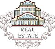 Inmobiliaria Logo Template Imágenes de archivo libres de regalías