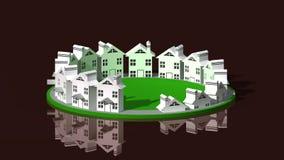 Inmobiliario ilustración del vector