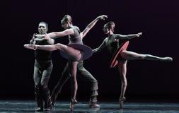 InMomentum-классическое ` собрания Austen ` балета Стоковая Фотография RF