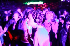INmusic Silent Party stock photos