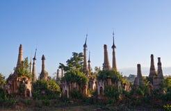 Inn Thein Paya, Myanmar Royalty Free Stock Photos
