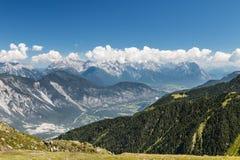Inn Valley in Austria Royalty Free Stock Photo