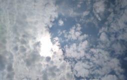 Inna ?mieszna chmura fotografia royalty free