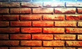 Inna cegła na ścianie Zdjęcia Stock