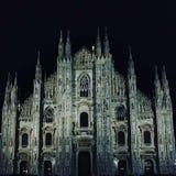 Inna zadziwiająca architektura od Milan: Duomo di Milan obrazy royalty free