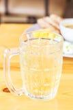 Innaffi il tè con alimento di popolare della Tailandia Fotografie Stock Libere da Diritti