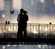 innamorati Fotografia Stock Libera da Diritti