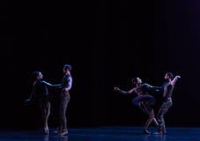 ` Innamorato-classico della raccolta di Austen del ` di balletto Immagini Stock Libere da Diritti